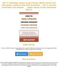 book how to add update amazon account