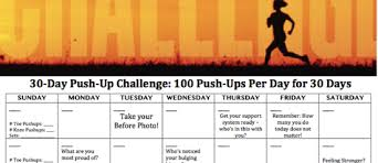 30 Day Push Up Challenge Active