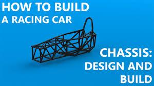 Race Car Frame Design Chassis Part 1 Design And Frame Build