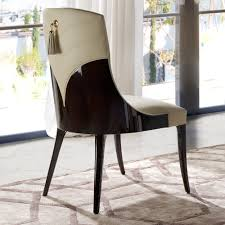 art deco inspired furniture. Art Deco Inspired Walnut Leather Dining Chair Furniture D