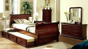 decoration twin wooden sleigh bed with storage drawers beds super king size