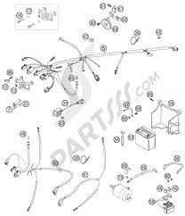 Harness ktm 525 exc factory racing 2007 eu ktm motorcycle525 exc factory racing wiring harness 1000
