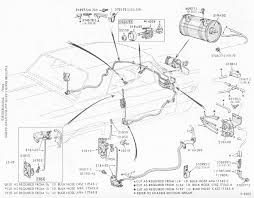 ford thunderbird shop manuals 1964 1966 thunderbird vacuum door lock diagram