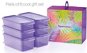 tupperware cool stacker set um 4 1 3l large 2