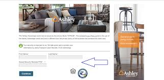 Ashley Furniture Bill Pay west r21