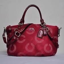 Coach Signature Elegant Tote Sling Bag