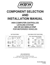 Ml44818 Hwh Corporation Manualzz Com