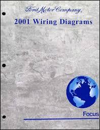 2001 ford focus wiring diagram manual original