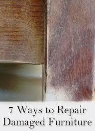 7 easy ways to repair damaged wood