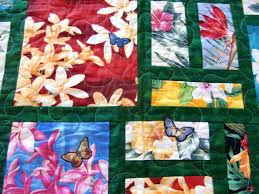 Hawaiian Baby Quilts For Sale Hawaiian Baby Quilt Kits Hawaiian ... & Handmade Hawaiian Baby Quilts Hawaiian Quilt Idea I Would Us A Differ Not  Color For Borders Adamdwight.com