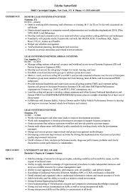 Lead Systems Engineer Resume Samples | Velvet Jobs