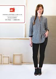 Tunic Sewing Pattern Mesmerizing Gallery Tunic Dress Sewing Pattern Shop Oliver S