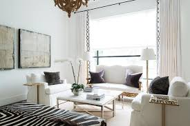 white french living rooms