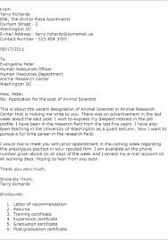 Science Cover Letter Examples Of Cover Letters For A Job Sample ...