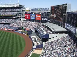 New York Yankees Stadium Seating Chart Yankee Stadium New York Yankees Ballpark Ballparks Of