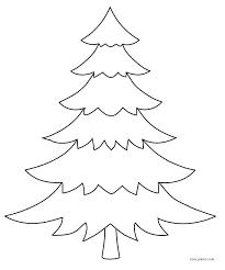 Christmas Wish List Coloring Page Tree Color Page Printable Tree