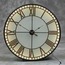 gold westminster wall clock