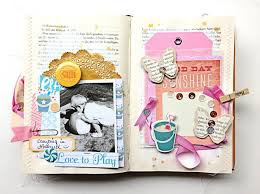 happy little moments page 4 by anke kramer at studio calico find this pin and more on altered books
