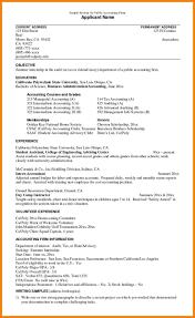 Summer Internship Resume Objective Sarahepps Com