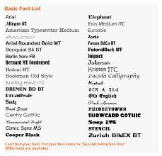 forte font font guide
