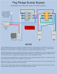 busbar wiring diagram busbar wiring diagrams online modified power wheels peg busbar byp diagram