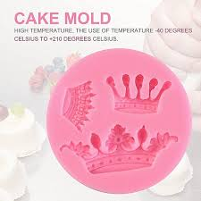 Allwin Crown Shaped Baking Mold Fondant Cake Tool Pastry Soap Moulds