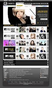 Chart Mtv Mtv Charts Silvia Desideri Interactive Art Director