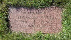 Rosemary Viola Trabert Fink (1931-1980) - Find A Grave Memorial