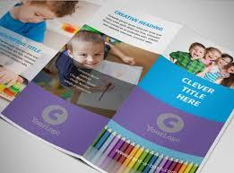 Sample Resume Preschool Brochure Samples || Write A Cv Profile