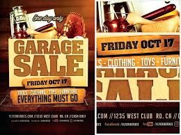 Garage Sale Flyers Free Templates Yard Sale Flyer Garage Sale Flyer Template Neighborhood Yard Sale