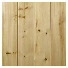 empire company 3 5625 in x 8 ft raw cedar wood tongue and groove wall