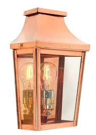 handmade outdoor lighting. Copper Outdoor Lighting Handmade Wall Lantern Guarantee Ireland .