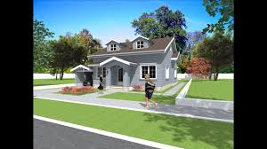 American House Model Design Bungalow House Plan And Design American Style House With Siding 2 Bedroom Small Home