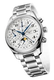 longines watchmaking tradition master collection moon phase full longines moon phase full calendar chronograph watch l2 673 4 78 6