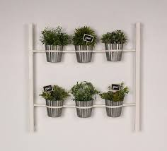 BUY IT  Wall Mounted 6 Pot Herb Planter: ...