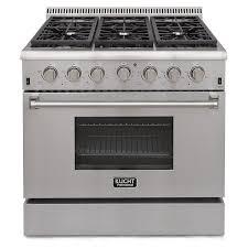Professional Ovens For Home Amazoncom Kucht Krg3618u 36 Professional Class Gas Range