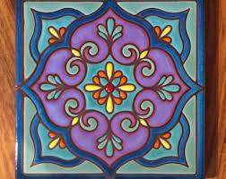 6X6 Decorative Ceramic Tile 100x100 ceramic tile Etsy 84