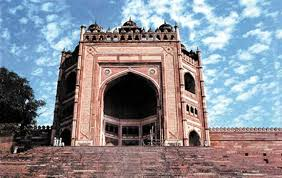 "akbar mughal emperor britannica com buland darwaza ""high gate"" built during the reign of akbar the"