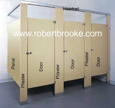 Toilet Partition Powder Coated Steel Pilaster Guide Robert