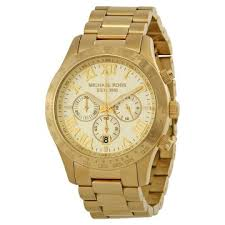 michael kors watches jomashop michael kors layton chronograph champagne dial men s watch