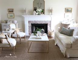 spring living room a simple and easy