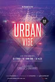 Event Flyers Free Urban Vibe Free Psd Party Flyer Template Psdflyer Co