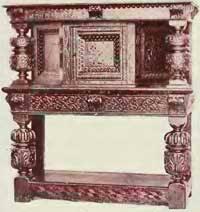 furniture motifs. Elizabethan Court Cupboard Furniture Motifs