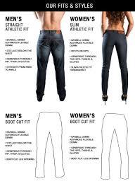 Barbell Jeans Size Chart Barbellapparel_jeans2 Muscular Legs Barbell Denim