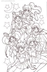 Small Picture Sailor Moon Coloring Pages Avaneshop Avane vintage toys games