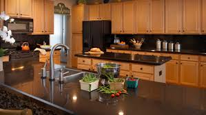 Kitchen Counter Kitchen Nice Wall Mounted Kitchen Counter And Black Top Color Plus