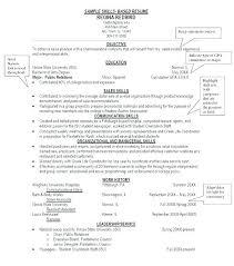 Skills For Resume Sample Skills For Resume Example Leadership Skills