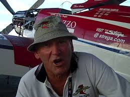 """I was priviliged to have a moment with Bill """"Tiger"""" Destefani, Pilot and Owner of the beautiful P-51D Mustang - Strega ( Race #7) prior to the weeks start ... - tiger-destefani-9-16-10_dvd.original"""