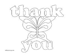 Thank You Card Coloring Page Mycoloring