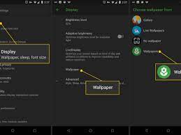 Top 8 free wallpaper apps for android. How To Change Your Android Wallpaper